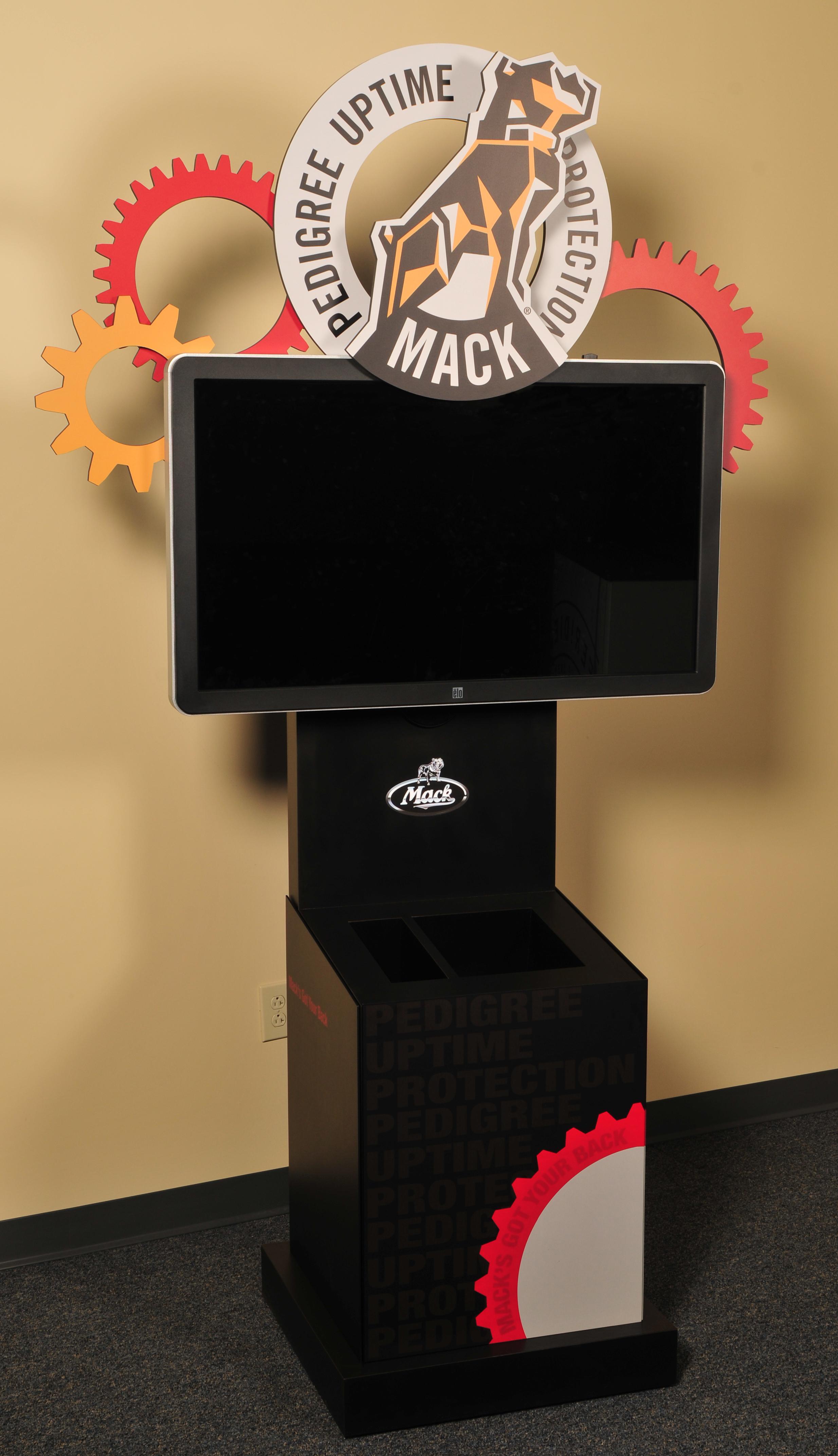 Mack Trucks Touchscreen Kiosk